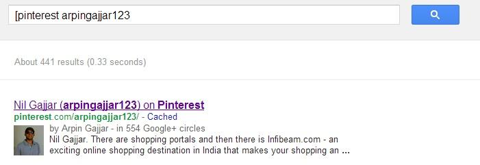 Акаунт, свързан само с Twitter, се появява с Authorshop в Google Search