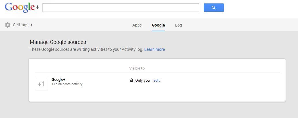 Google+ - настройки кой да вижда +1 активността