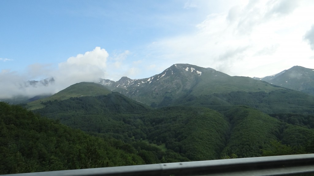 Планините в Косово