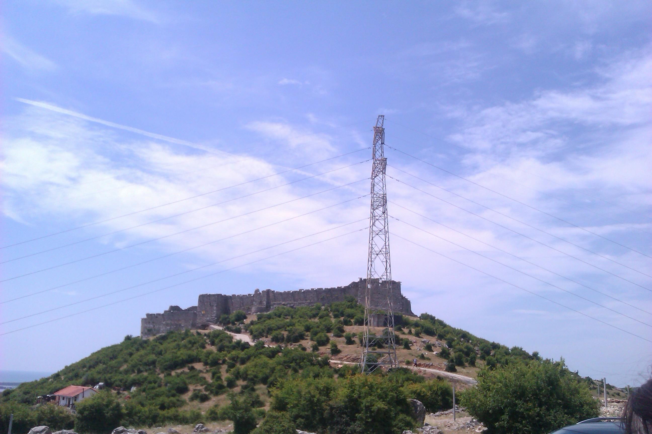 Изглед към крепостта в ЛежаИзглед към крепостта в Лежа